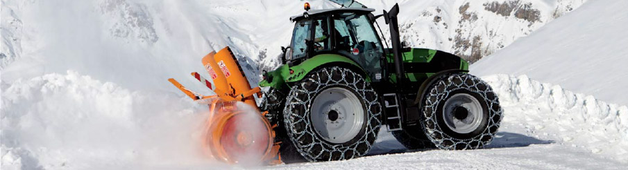 Snow Chains for Tractors