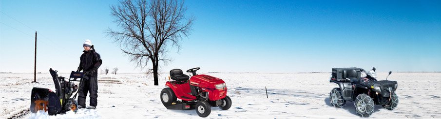 Commercial Snow Chains for Mini Tractor, Snow Blower, ATV, etc...