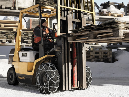 Snow Chains for Forklifts
