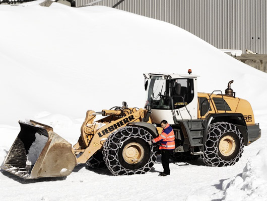 Snow Chains For Snow Removal Equipment